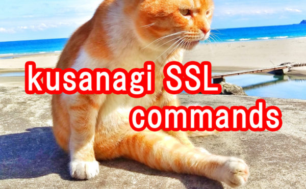 kusanagi-ssl-3-commands
